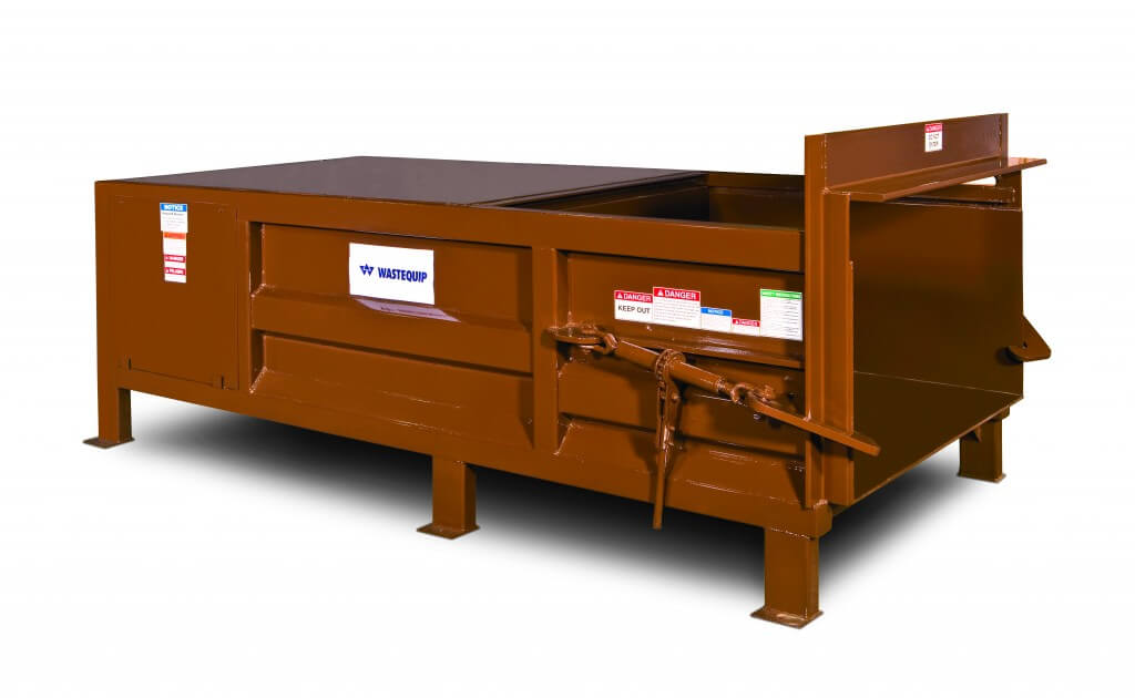 345HD stationary_Compactor_Brown